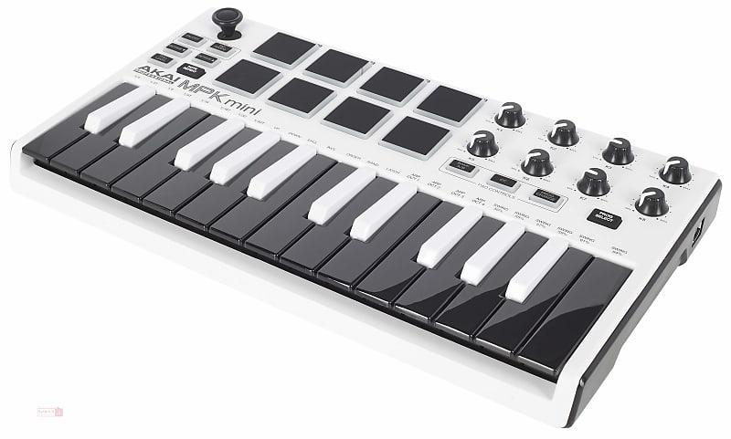 akai professional mpk mini mkii keyboard controller white reverb. Black Bedroom Furniture Sets. Home Design Ideas