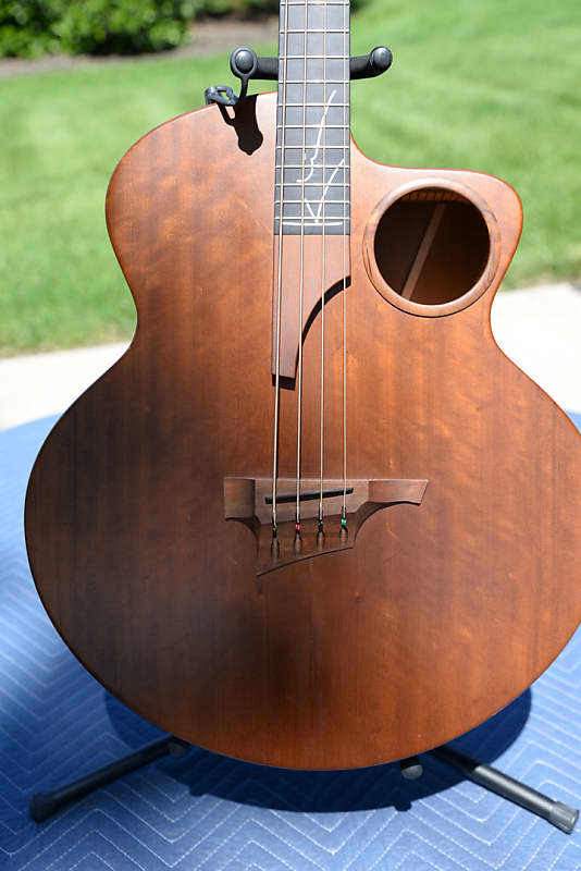 Auto Body Shops >> Taylor AB-2 Acoustic / Electric Bass Guitar - Imbuia | Reverb