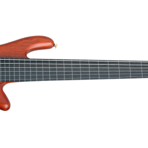Schecter Stiletto Studio-6 FL Active Fretless 6-String Bass Honey Satin
