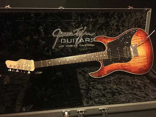 james tyler studio elite hd 2016 spalted maple guitar reverb. Black Bedroom Furniture Sets. Home Design Ideas
