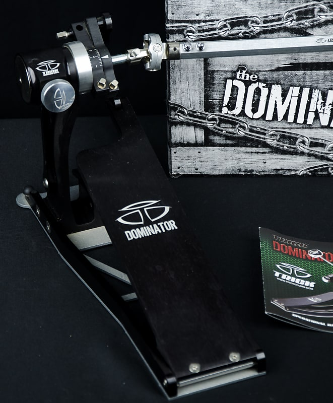 used trick dominator double bass drum pedals mint reverb. Black Bedroom Furniture Sets. Home Design Ideas