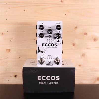 Keeley ECCOS Neo-Vintage Tape Delay & Looper - Guitar Effect Pedal