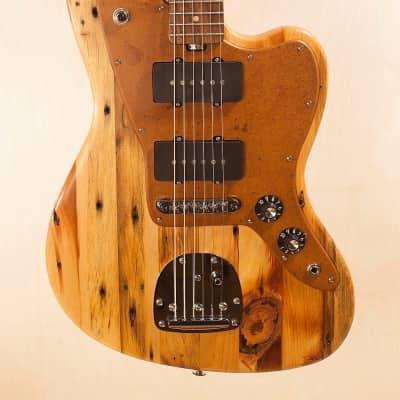 Strack Guitars Jazzmaster  2018 Rustic Reclaimed Pine Douglas Fir handmade custom for sale