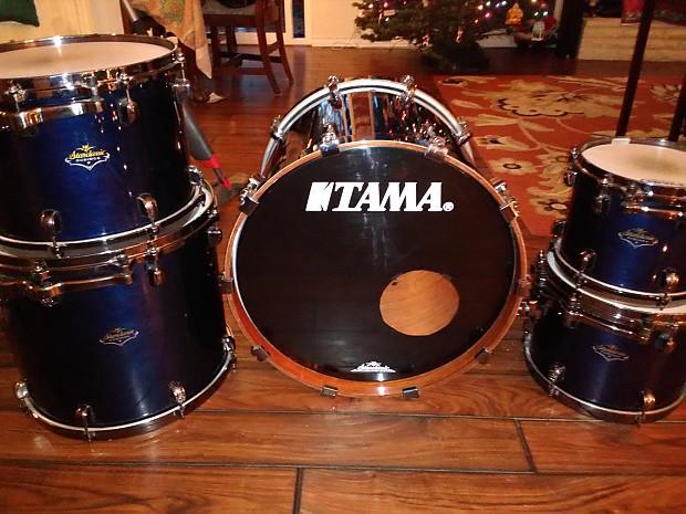 e2e2fc864b35 5 piece Tama Starclassic Bubinga Elite