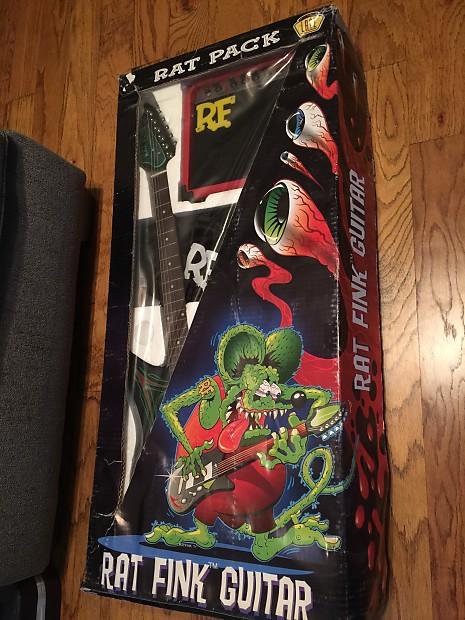 Rare Lace Rat Fink Rat Pack Guitar Amp Set Ed Roth Big