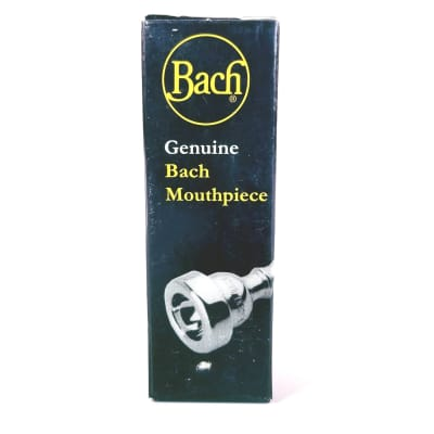 Bach Model 3511 Custom 1 Silver Plated Trumpet Mouthpiece