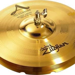 """Zildjian 14"""" A Custom Rezo Hi-Hat Cymbal (Top)"""