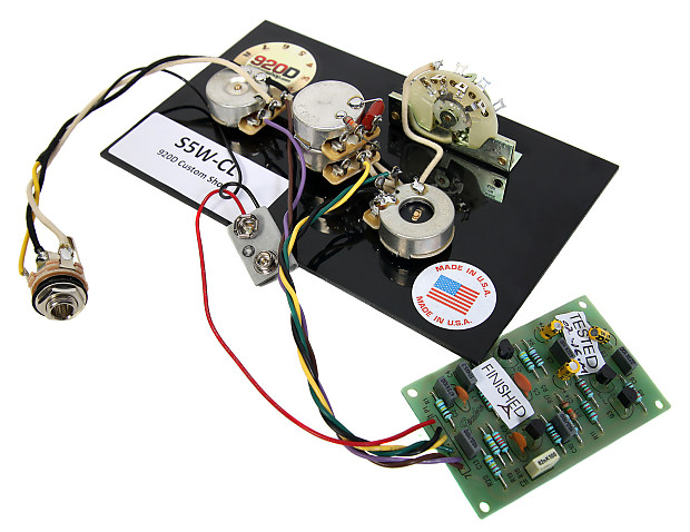 920d 5 way wiring harness with fender mid boost kit prewired reverb. Black Bedroom Furniture Sets. Home Design Ideas