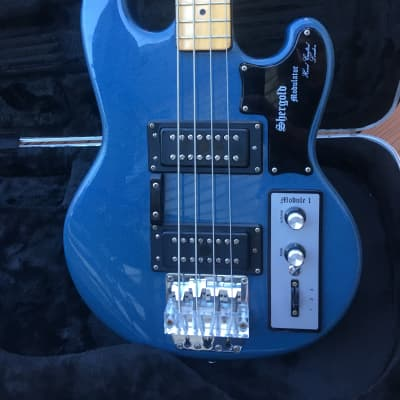 Shergold Modulator Bass 1980 Pelham Blue for sale