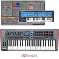 Novation Impulse 49-Key Usb MIDI Semi-Weighted Keyboard Controller