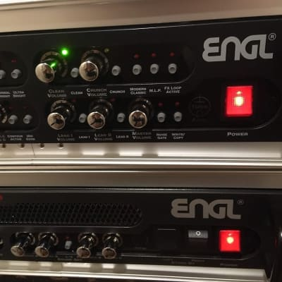 Engl  Engl E570 pre-amp and 850/100 Stereo power amp for sale