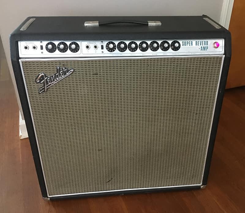 Fender Super Reverb 1968 Silverface 45Watt 4x10 Combo Amp