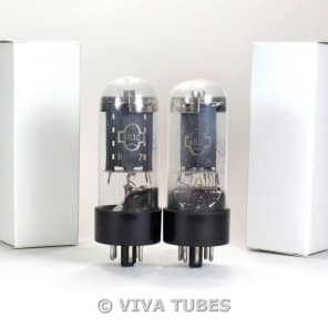 NOS Ip Matched Pair Soviet USSR 6L6GC 6P3S Vacuum Tubes Russia (Ships USA)