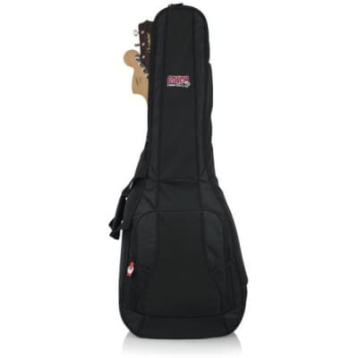 Gator 4G Series Acoustic/Electric Double Gig Bag - Dual,