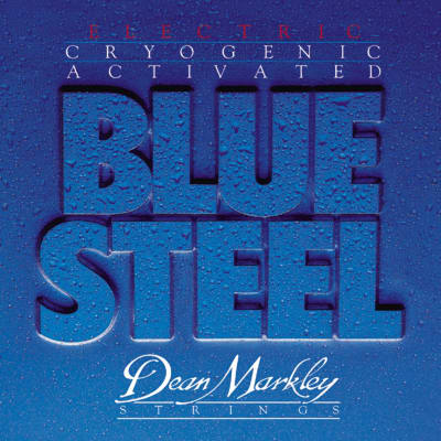 Dean Markley DM2556 Blue Steel Electric Guitar Strings - Regular 10-46 for sale