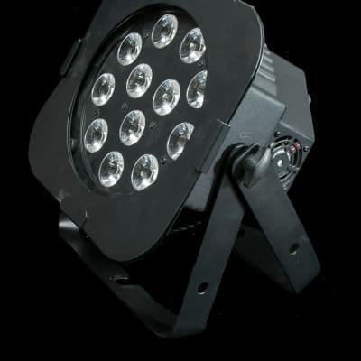 American DJ 12P HEX LED Par Fixture with 12x 12-Watt, 6-IN-1 HEX LEDs