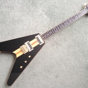 Hoyer Arrow Prestige HEG 530 N Mahogany Ebony Push Pull V Shape Electric Guitar for sale