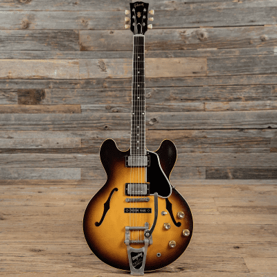 Gibson ES-335TD with Bigsby Vibrato, Dot Inlays 1962