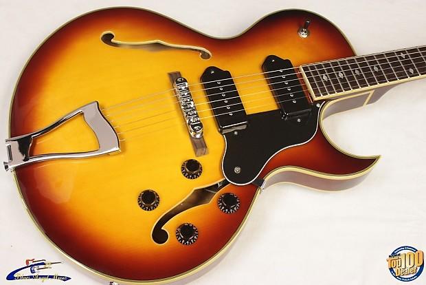 jay turser jt 139t hollowbody electric guitar w hsc vg reverb. Black Bedroom Furniture Sets. Home Design Ideas