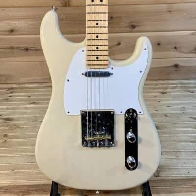 Fender Parallel Universe Whiteguard Stratocaster Electric Guitar -  Vintage Blonde