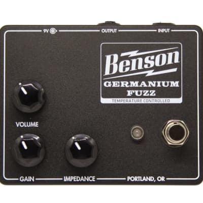 Benson Amps Germanium Fuzz 2021 Studio Black