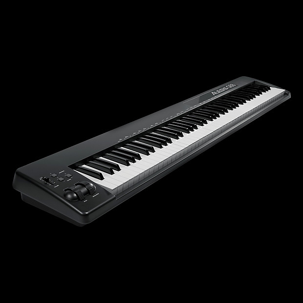 alesis q88 88 key usb midi keyboard controller alto music reverb. Black Bedroom Furniture Sets. Home Design Ideas