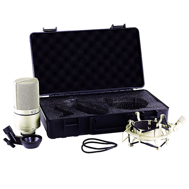 new mxl 990 condenser microphone with shockmount reverb. Black Bedroom Furniture Sets. Home Design Ideas
