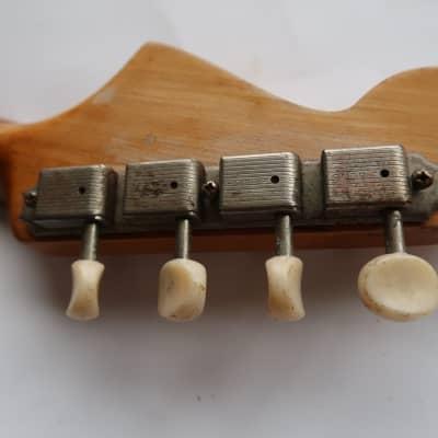 Fender Mandocaster / Mando Strat  Tuners Kluson  1956 thru 1964 60's 70's  USA Vintage