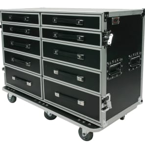 OSP PRO-WORK-SXS ATA Side-by-Side Drawer Case