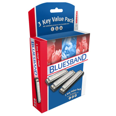 Hohner Bluesband Value Pack Harmonica Set