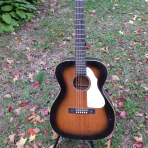 harmony silvertone acoustic  silvertone  sixties sunburst for sale