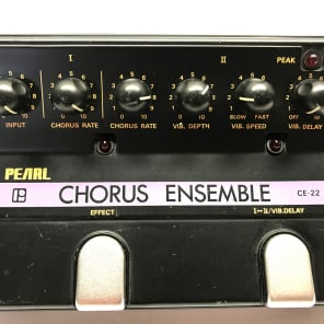 Pearl CE-22, Chorus Ensemble, 2CH, Made In Japan, 1980's, Vintage Guitar Effect for sale