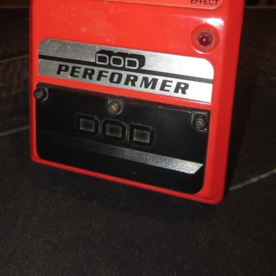 Vintage 1979 DOD 555-A Distortion Red for sale