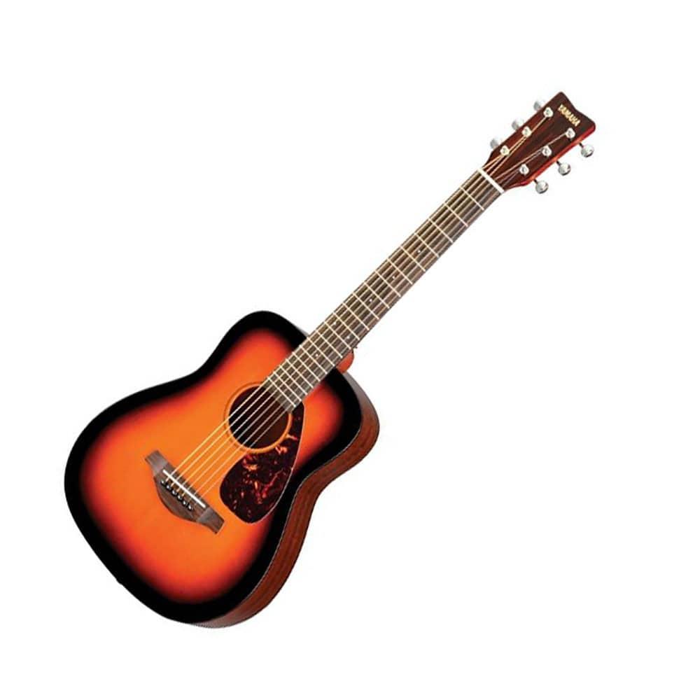 Yamaha jr2 3 4 size folk guitar tobacco brown sunburst for Yamaha jr2 3 4