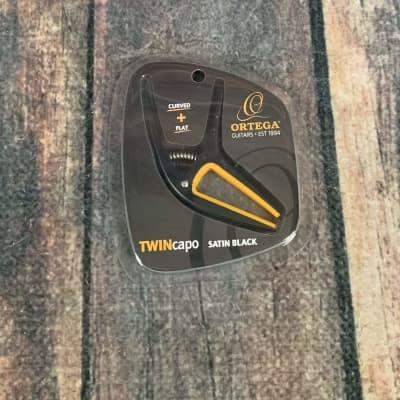 Ortega TWCAPO-SBK Twin Capo - Satin Black/Orange for sale