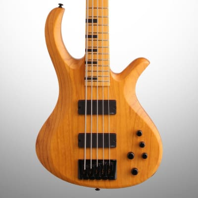 Schecter Session Riot 5 Electric Bass, Aged Natural Satin for sale