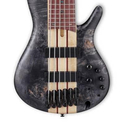 Ibanez Bass Workshop SRSC806DTF 6 String Bass - Deep Twilight Flat for sale