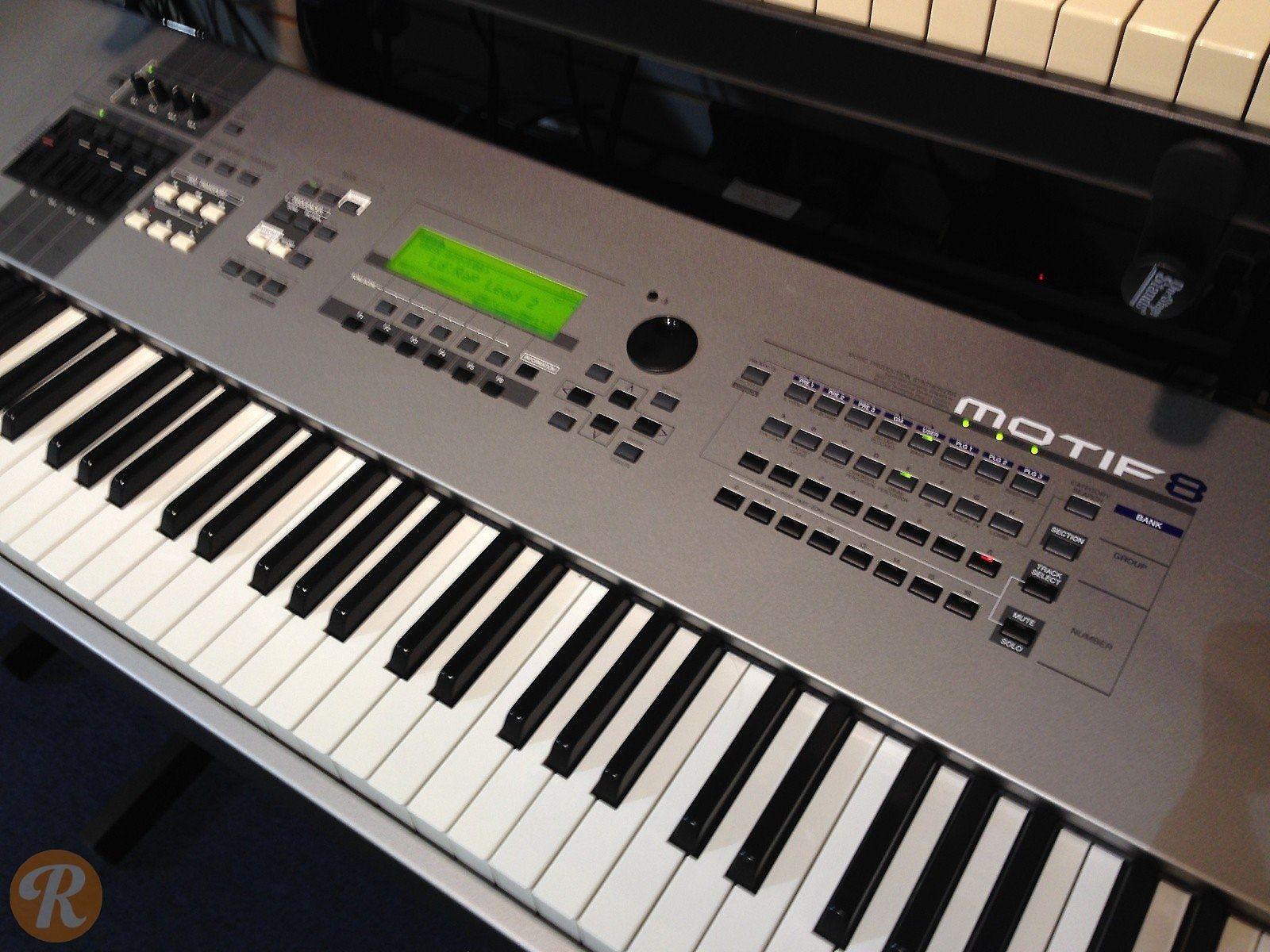 How To Make A Bump Key >> Yamaha Motif 8 | Reverb