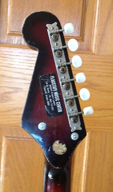 TEISCO ELECTRIC GUITAR VINTAGE 1960s WITH WHAMMY BAR