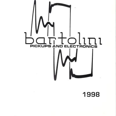 Bartolini- Pickups & Electronics Catalog 1998