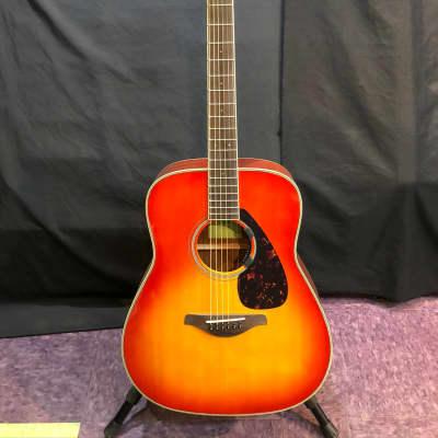 Yamaha FG820-AB Folk Acoustic Guitar Autumn Burst for sale