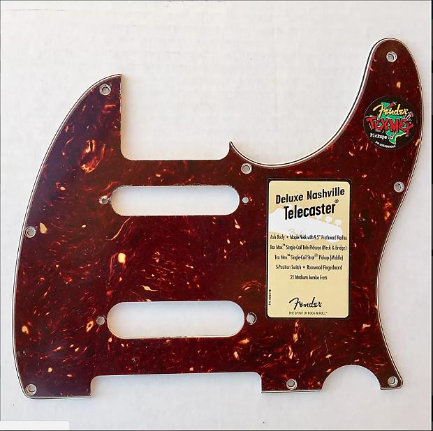 920D CS 3 Ply Pickguard for Fender Nashville Telecaster CNC Precision Cut WH