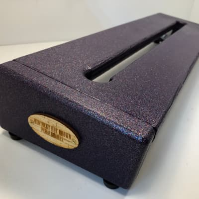 Hot Box Standard Pedalboard -  Purple Sparkle (Monster Freestyle) by KYHBPB - Available Now