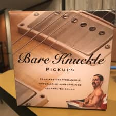 Bare Knuckle The Mule PAF Style Pickup Set Nickel