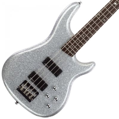 Daisy Rock DR6772 Candy Rock Maple Neck 4-String Electric Bass Guitar - Diamond Sparkle for sale