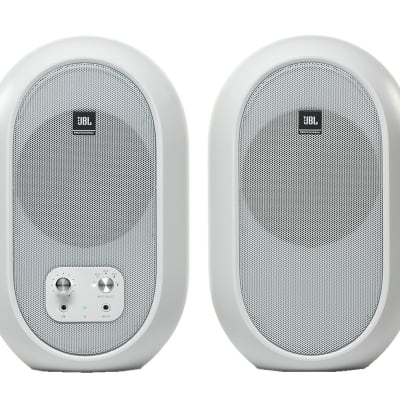 JBL 104-BT Compact Desktop Reference Studio Monitors with Bluetooth