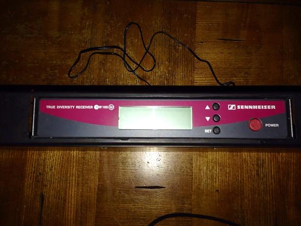 sennheiser ew 100 g2 guitar wireless system with rack kit reverb. Black Bedroom Furniture Sets. Home Design Ideas