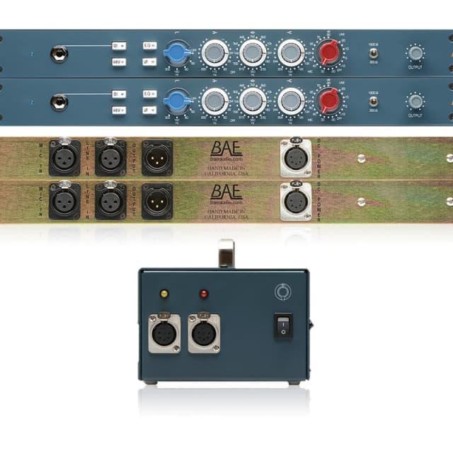 BAE Audio 1023 Mic Pre / EQ | Stereo Pair with Power Supply | Pro Audio LA image