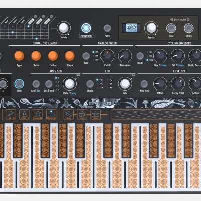 Arturia V Collection 6 Software 21 Classic Keyboard/Synth