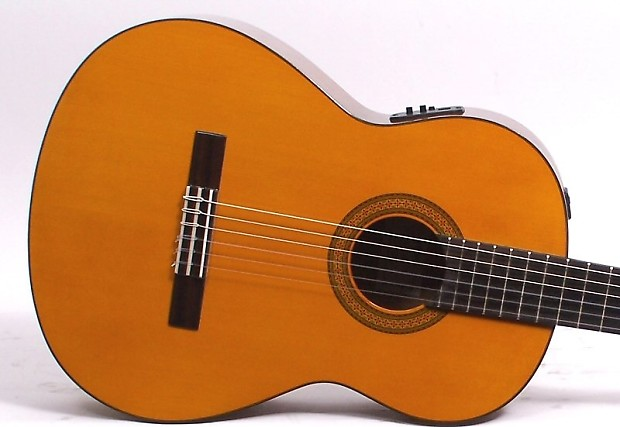 yamaha cgx102 acoustic electric classical guitar natural reverb. Black Bedroom Furniture Sets. Home Design Ideas